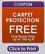 carpet protection coupon