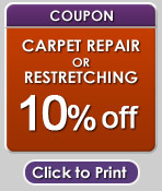 carpet repair coupon