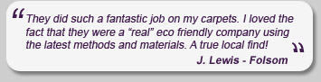 Carpet Care Testimonial